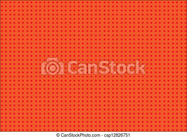 stock illustrationen von punkte orange rotes