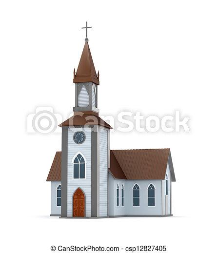 Classical Christian church - csp12827405