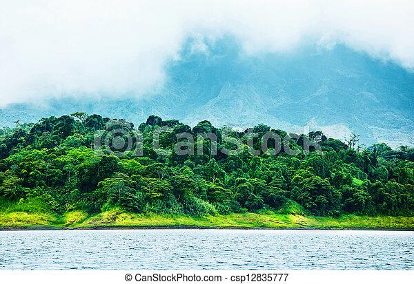 image de beau paysage image de costa rica nature de central csp12835777. Black Bedroom Furniture Sets. Home Design Ideas