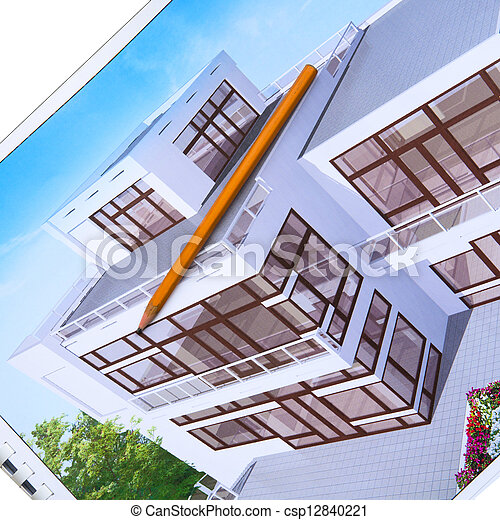 architecture design visualization - csp12840221
