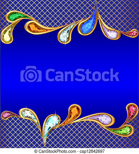 eps vektoren von blaues hintergrund kostbar steine gitter abbildung csp12842697. Black Bedroom Furniture Sets. Home Design Ideas