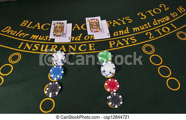 Gambling casino - csp12844721