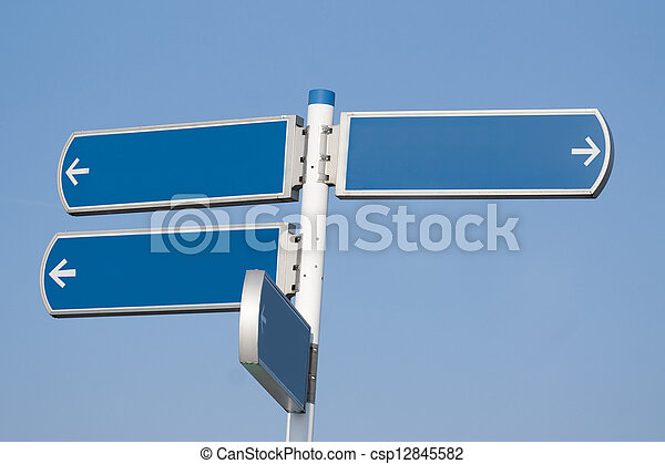 交通標志 - csp12845582