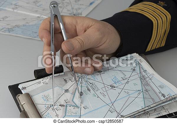 images de main capitaine utilisation paire compas navigation but csp12850587 recherchez. Black Bedroom Furniture Sets. Home Design Ideas