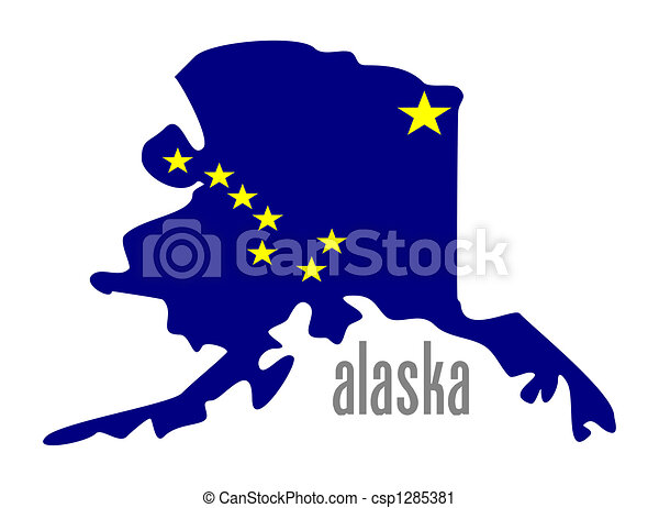 Clip Art Alaska Clip Art state alaska illustrations and clipart 1407 royalty outline flag illustation clipartby