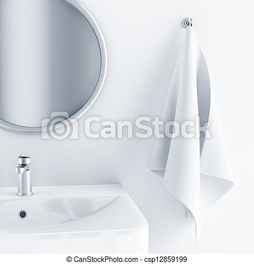 Stock fotografieken van badkamer interieur licht for Licht interieur