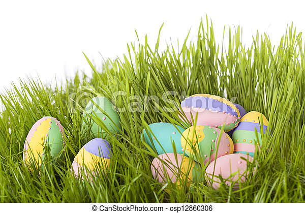 Easter eggs - csp12860306