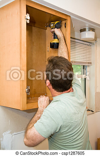 Installing Cabinets - csp1287605