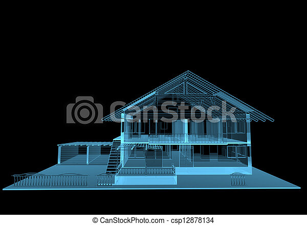 Residential house - csp12878134