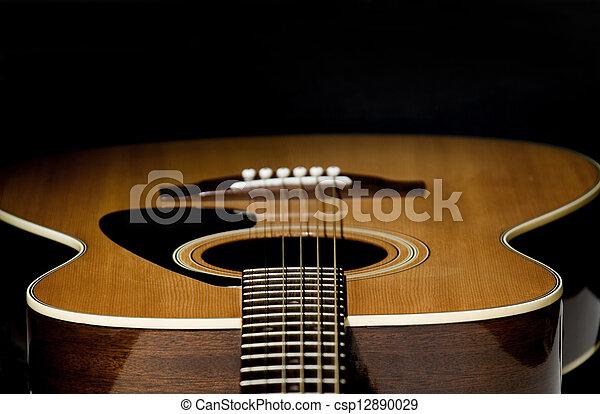 Guitar Selective Focus