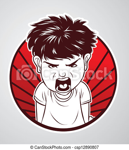 angry boy drawing - photo #29