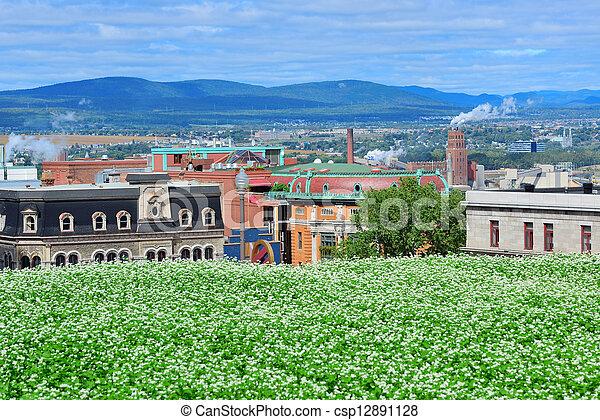 Quebec City view - csp12891128