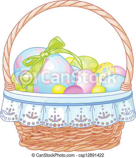 Easter Basket - csp12891422