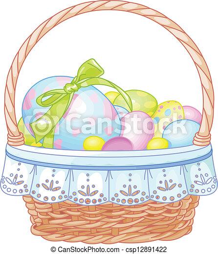 Easter Basket - csp12891422