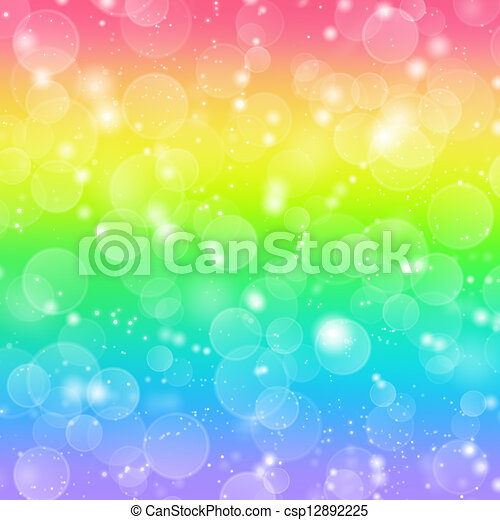 Rainbow holiday background - csp12892225