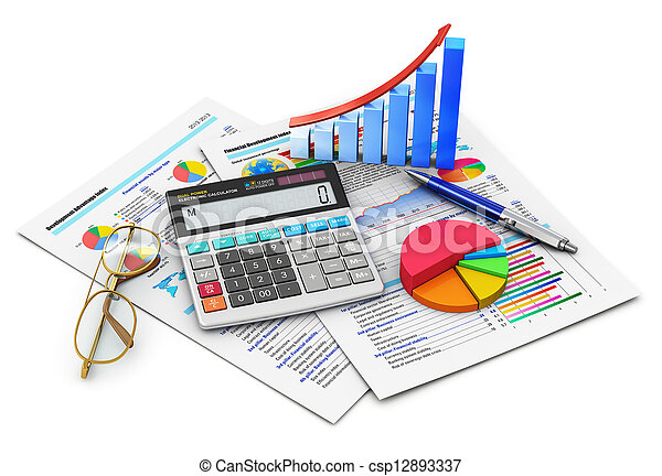 Finance and accounting concept - csp12893337