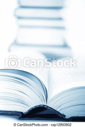 open books - csp12893802