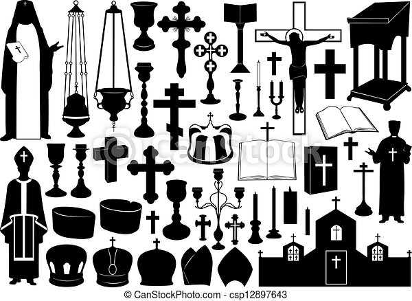 Pope Hat Clipart Image...