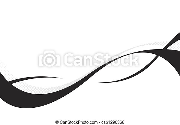 3D Flowing Curves - csp1290366