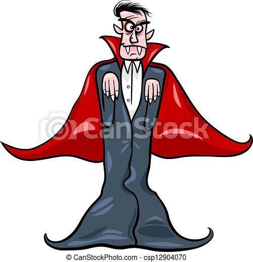 tecknad vampyr