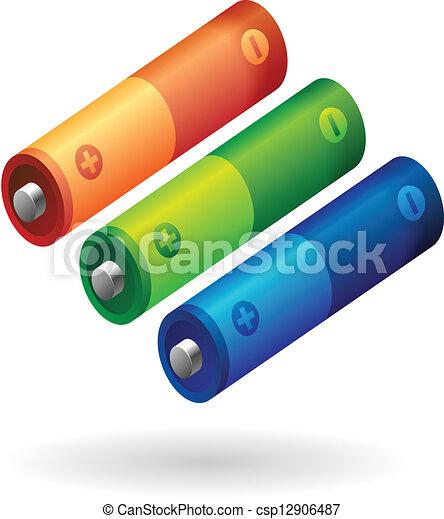 AA battery - csp12906487