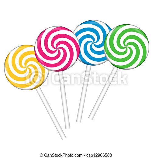 ensemble sucettes color - Sucette Colore