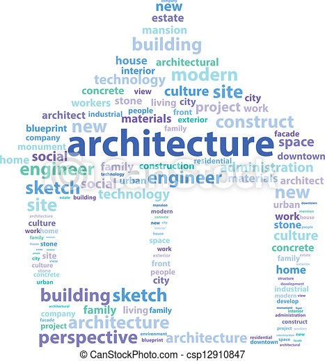 Architecture Word Art Pictures To Pin Clanek