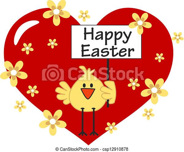 happy easter - csp12910878
