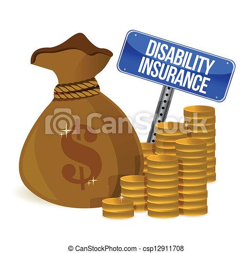 Disability insurance - csp12911708