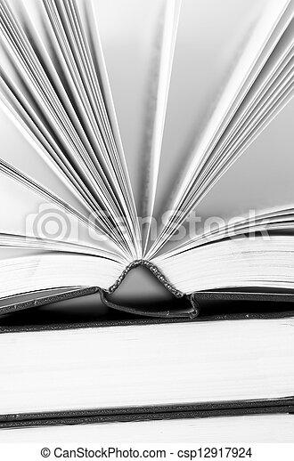 open books - csp12917924
