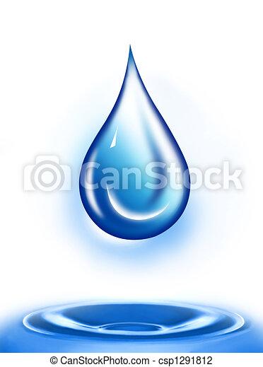 Water drop - csp1291812