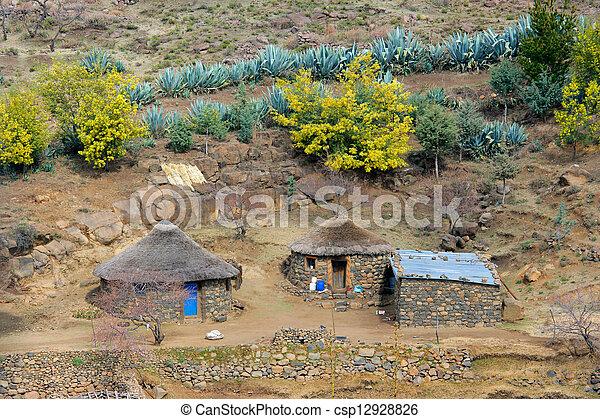 Rural settlement - csp12928826