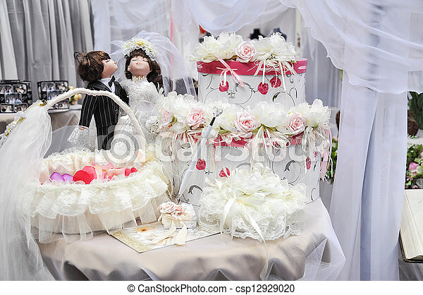 At the Wedding Salon