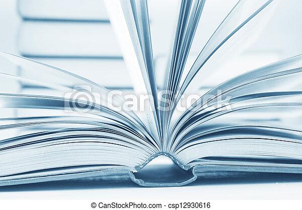 open books - csp12930616