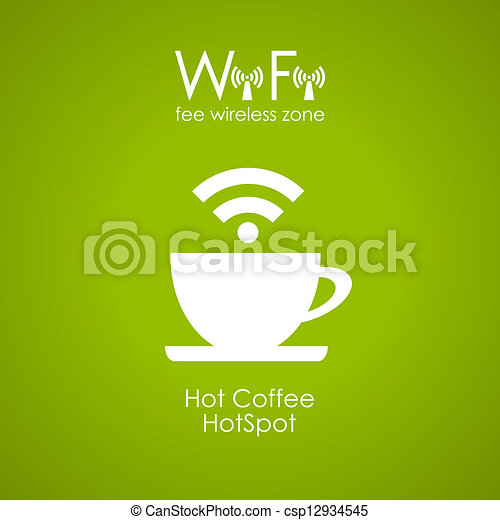 Internet cafe poster design - csp12934545