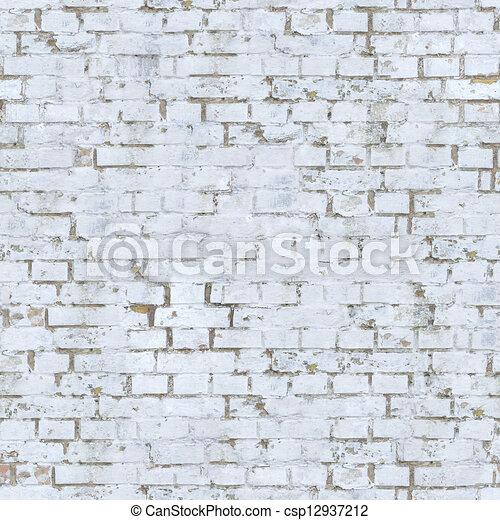 clipart de mur blanc brique texture vieux blanc brique mur csp12937212 recherchez. Black Bedroom Furniture Sets. Home Design Ideas