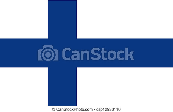 Flag of Finland. - csp12938110