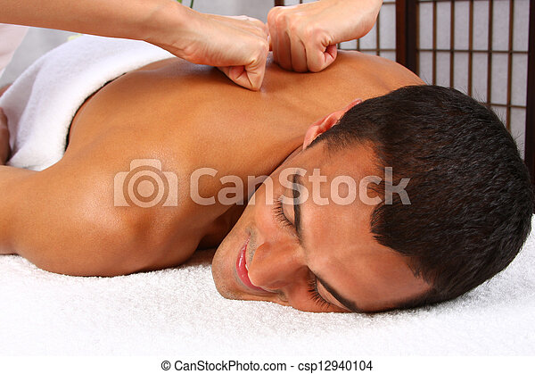 Man Massage - csp12940104