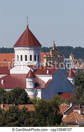 Vilnius churches - csp12948107