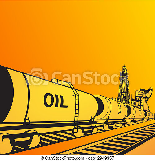 Oil transportation - csp12949357