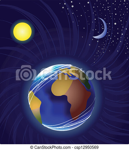 Clip Art Sun Moon Earth (page 4) - Pics about space