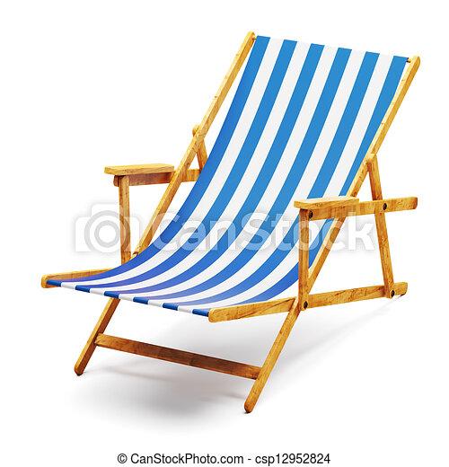 Clip Art of Modern beach chair csp12952824 - Search Clipart ...