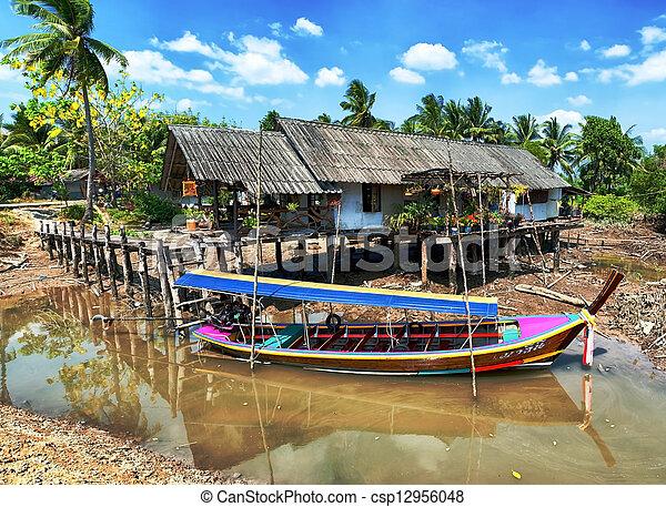 Thailand rural landscape - csp12956048