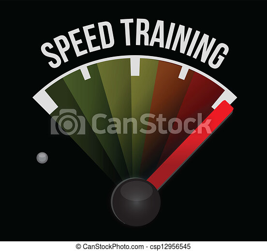 speed training concept - csp12956545