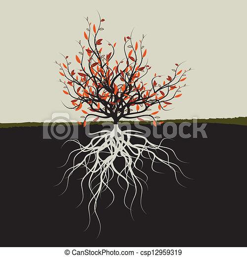 Arboles Secos Vectores Vector árbol Raíces