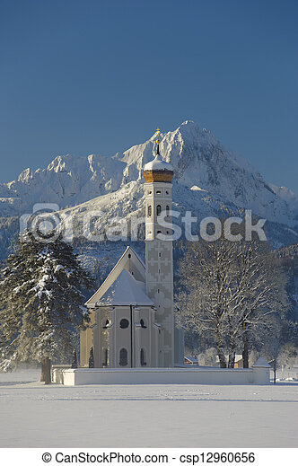 church in bavaria - csp12960656