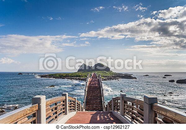 Arched bridges - csp12962127