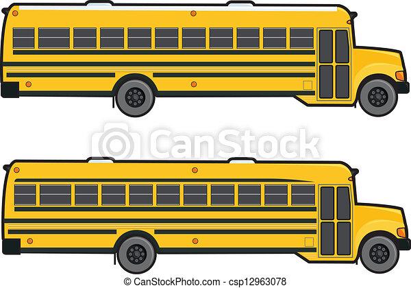 Free School Bus Color Page