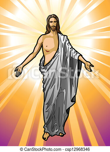 Jesus Christ - csp12968346