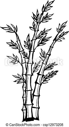 comment dessiner des bambou